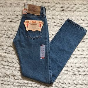 NWT Vintage Levi's 501's Button Fly Blue Jeans 93'